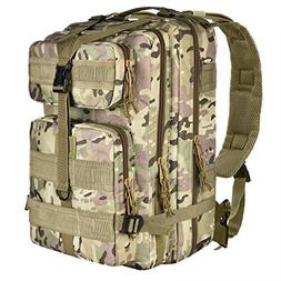 CVLIFE Outdoor Tactical Backpack Military Rucksacks for Camp