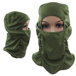 Tactical Balaclava Hood, Skiing Face Mask, Breathable / Ligh