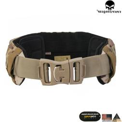tactical belt airsoft avs low profile duty