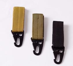 Tactical Carabiner <font><b>Backpack</b></font> Hooks Olecra