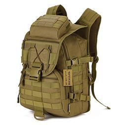 Huntvp 40L Military Tactical Backpack MOLLE Assault Daypack
