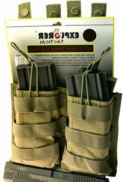 Explorer Tactical Double Magazine Holder Molle Pouch Pistol
