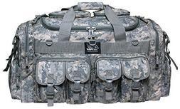 "30"" Tactical Duffle Military Molle Gear Shoulder Strap Range"
