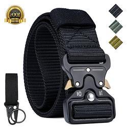 IWIVI 1.5 Inch Tactical Duty Belt Nylon Military Style Belt