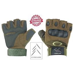 Tactical Gloves – Airsoft Fingerless Gloves - Tactical Fin