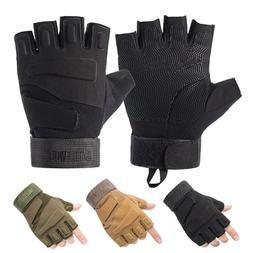 Tactical Gloves Army SWAT Military Combat Hunting Shooting D