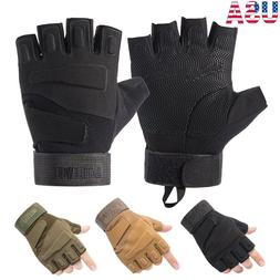 Tactical Hunting Duty Gear Gloves Military Sniper Airsoft Pa