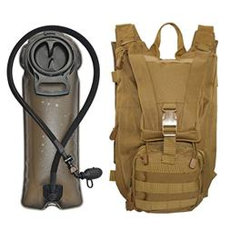 SEAL3 Tactical Hydration Pack Backpack 2.0. 900D Military-Su