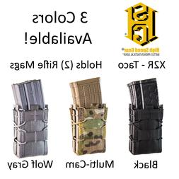 tactical molle modular x2r double rifle magazine