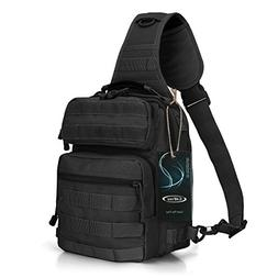 G4Free Outdoor Tactical Sling Backpack, Military Sport Daypa