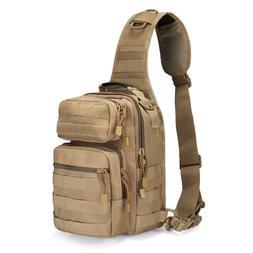 Tactical Sling Bag Pack Military Rover Shoulder Sling Backpa