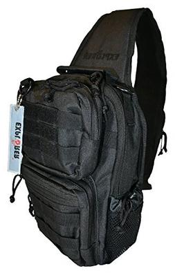 Explorer Chest Sling Tactical Shoulder Backpacks Bags Fashio