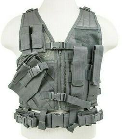 VISM Tactical Vest 2XL-3XL Crossdraw Tactical Shooting Rig V