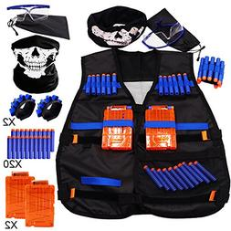 Tactical Vest Kit for Nerf N-Strike Elite Series - 20Dart Re