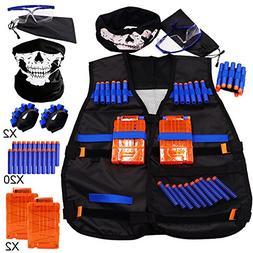 Tactical Vest Kit for Nerf N-Strike Elite Series - 20Dart Re