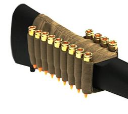 Tan 13 Round Rifle Ammo Cartridge Stock Buttstock Slip Over
