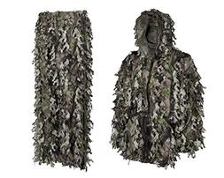 Youth Teens Kids 3D Leafy Ghillie Boys Camouflage Hunting Su