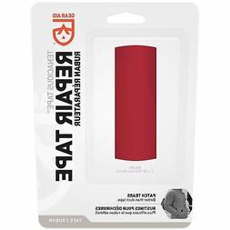 Gear Aid Tenacious Tape for Fabric Repair Red with Aggressiv