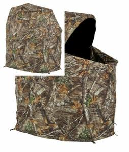 Ameristep Tent Chair Easy Fold Over Ground Blind, Realtree X