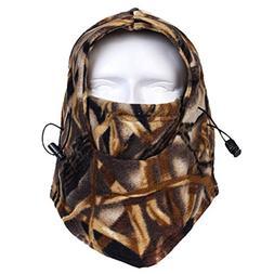 Your Choice Balaclava Outdoor Sports Mask, Fleece Heavyweigh