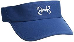 Under Armour Women's Thermocline Visor, Moroccan Blue/White,