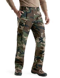 CQR CQ-TLP105-WOV_34W/32L Men's Tactical Pants Lightweight E