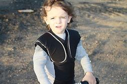 TODDLER PADDED SHIRT Chest & Upper Body PROTECTIVE Sports GE