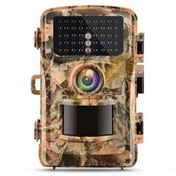 "Campark Trail Camera 1080P Hunting Cam 14MP 2.4"" Color LCD W"