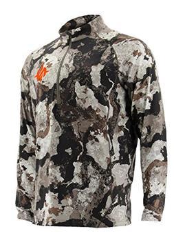 Nomad Transition 1/4 Zip Long Sleeve Camo Hunting Shirt, N12