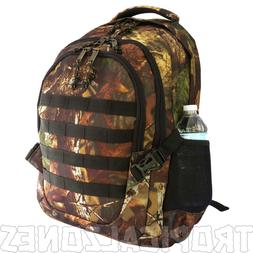 "Tree Camo Backback Hunting Camping Hiking Gear 19"" Daypack H"