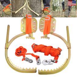 Tree Climbing Gear Spike Set Tool f/ Hunting Survival Electr