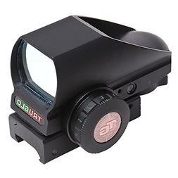 TRUGLO Tru-Brite Open Red-Dot Dual-Color Multi Reticle Black