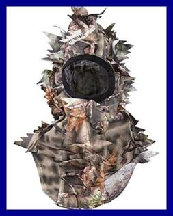 Ultra Light Hunting Camouflage Full Cover 3D Leafy Face Mask
