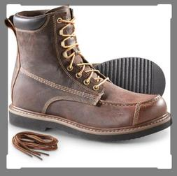 Guide Gear Uplander Insulated 400G W/P Hunting Boots Brown S