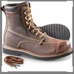 uplander w p hunting boots brown sz