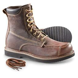 Guide Gear Men's Uplander Waterproof Lace Up Hunting Boots,