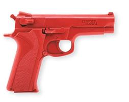 ASP S&W 9mm Red Gun Replica for Training and Practice with M