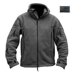 ReFire Gear Mens Warm Military Tactical Sport Fleece Hoodie