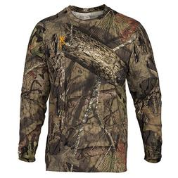 Browning Wasatch-CB Long Sleeve T-Shirt, Mossy Oak Break-Up