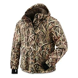 Guide Gear Men's Waterfowl Jacket, Shadow Grass Blades, XL