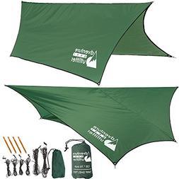 Adventure Gear Outfitter Waterproof Camping Tent Tarp, Rainf
