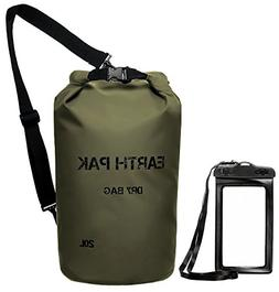 Earth Pak -Waterproof Dry Bag - Roll Top Dry Compression Sac
