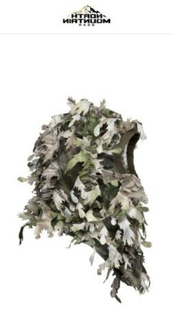 NORTH MOUNTAIN GEAR Wicked Woods Green Leafy Facemask!!!