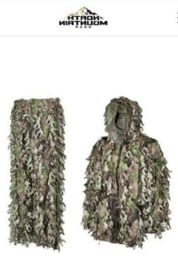 NORTH MOUNTAIN GEAR Wicked Woods Green Solid Shell Leafy Sui