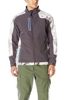 Yukon Gear Men's Windproof Softshell Fleece Jacket, Mossy Oa