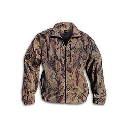 Natural Gear Windproof Full-Zip Fleece Jacket for Men and Wo