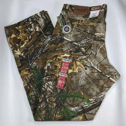 Wrangler Authentic Jeans Pro Gear Real Tree Camouflage Size