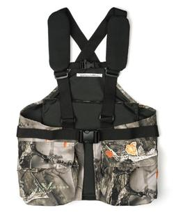 Lucky Bums Youth Turkey Vest, Recluse Camouflage, One Size